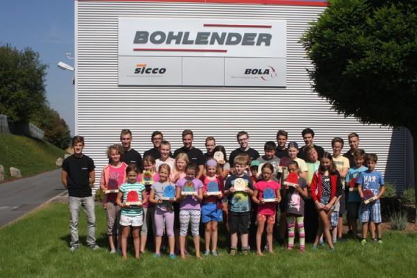 Ferienprogramm: BOHLENDER-Azubis organisierten kreativen Tag für Kinder