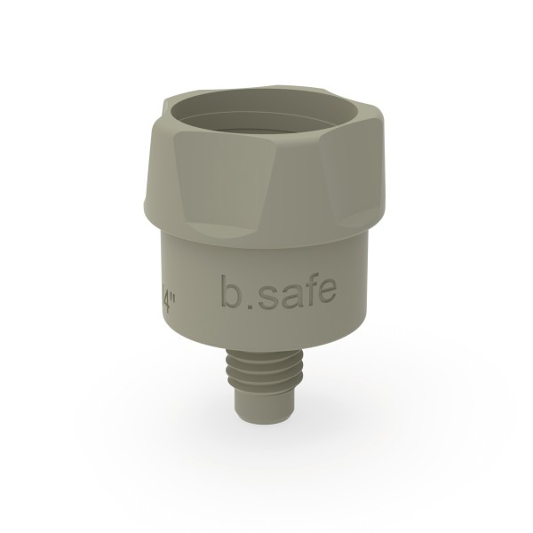 b.safe Adapter für Kapillaranschluss
