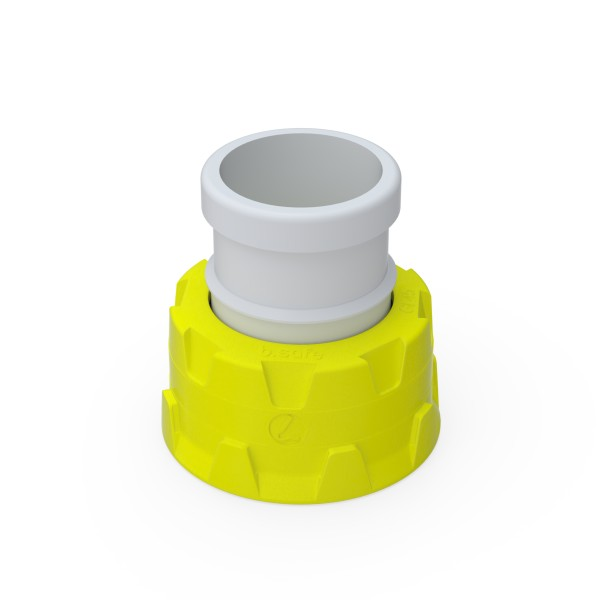 b.safe Adaptors with Ground Joint, PTFE, PPS