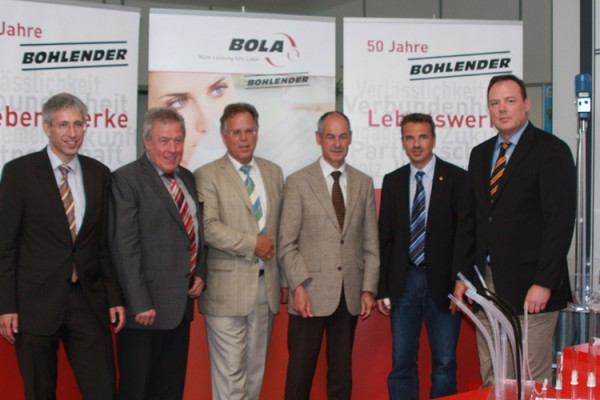 Baden-Württembergischer Minister Köberle bei Bohlender zu Gast