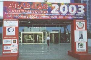 Erfolgreich bei der Arab-Lab 2003