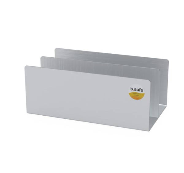 b.safe Stand for Canister S50, stainless steel
