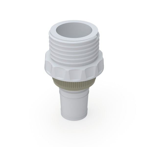 b.safe Adapter with Ground Joint, PTFE, PP