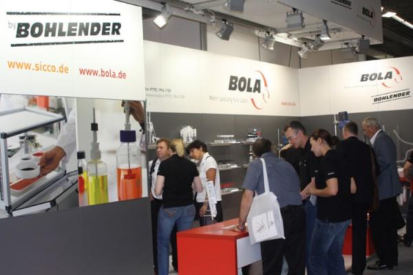Achema 2012 voller Erfolg: Bohlender GmbH freut sich über großes Besucherinteresse