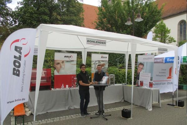 Gewerbetag in Grünsfeld – die BOHLENDER GmbH war dabei!